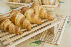 Croissants with feeling Royalty Free Stock Photo