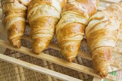 Croissants with feeling Royalty Free Stock Photography