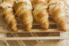 Croissants with feeling Stock Images