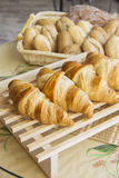 Croissants with feeling Stock Photo