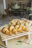 Croissants with feeling Royalty Free Stock Images