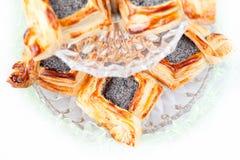 Croissants floconneux Photographie stock libre de droits