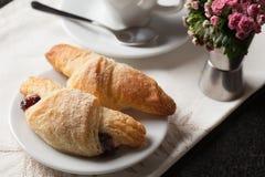 Croissants. Royalty Free Stock Photo