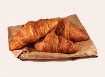 Croissants. French croissants the most delicious in the world Stock Images