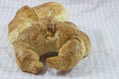 Croissants frescos Fotografía de archivo