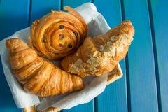 Croissants frescos Fotografía de archivo libre de regalías