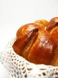 Croissants hechos en casa Imagen de archivo libre de regalías