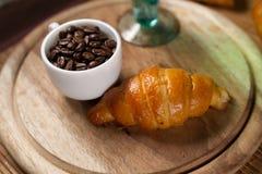 Croissants hechos en casa Fotografía de archivo