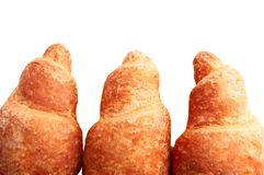 Croissants the isolated Stock Photo