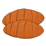 Croissants isolated illustration Stock Photos