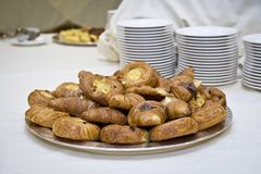 Croissants and pastrie Royalty Free Stock Image