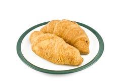 croissants saborosos Imagem de Stock Royalty Free