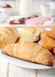 Croissants time Royalty Free Stock Image