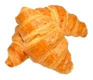 Croissants On White Royalty Free Stock Photos