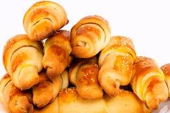 croissants świezi zdjęcia stock
