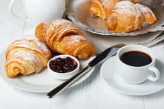 Free Croissants With Jam Royalty Free Stock Images - 86227869