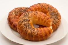 croissants wyśmienicie Fotografia Royalty Free