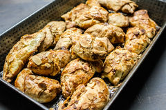 Croissants z migdałami Zdjęcia Royalty Free
