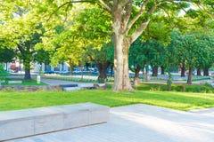 Croix à Christchurch du centre, Nouvelle-Zélande honorant des kiwis tués dans la guerre mondiale 1 Photographie stock
