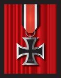 Croix 1813 de fer Images libres de droits