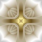 Croix abstraite illustration libre de droits