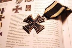Croix allemande de fer de Première Guerre Mondiale photo libre de droits