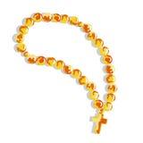 Croix ambre Photos libres de droits