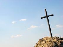Croix avec l'espace pour le texte Photo libre de droits