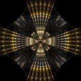 Croix bizantine Photo libre de droits