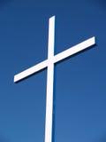 Croix blanche Photographie stock libre de droits