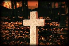Croix blanche Images libres de droits
