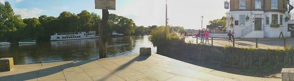 Croix blanche, Richmond Image libre de droits
