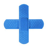 Croix bleue image stock
