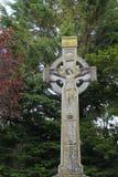 Croix celtique en Irlande Photographie stock libre de droits