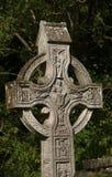 Croix celtique en Nord-Irlande Images libres de droits