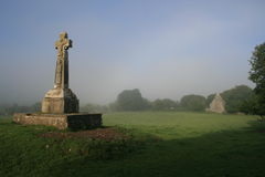 Croix celtique irlandaise photo stock
