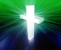 Croix chrétienne illustration stock