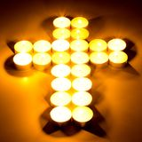 Croix chrétienne Image libre de droits