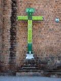 Croix chrétienne dans Cusco, Pérou Photo stock