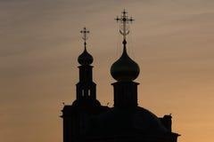 Croix chrétienne orthodoxe Photos libres de droits