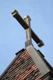 Croix défraîchie Photographie stock
