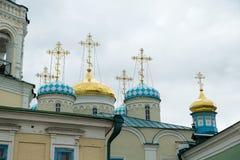 croix d'église Photo libre de droits
