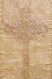 Croix d'or Images libres de droits