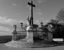 Croix d'Avignon Images libres de droits