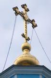 Croix d'orthodoxie photo libre de droits