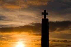 Croix, dans le cap de Roca Images libres de droits