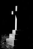 Croix dans mono Photo libre de droits