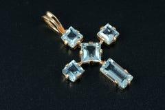 Croix de bijou Image libre de droits
