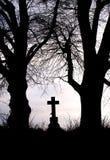 Croix de bord de la route Photographie stock libre de droits