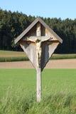 Croix de bord de la route Images libres de droits
